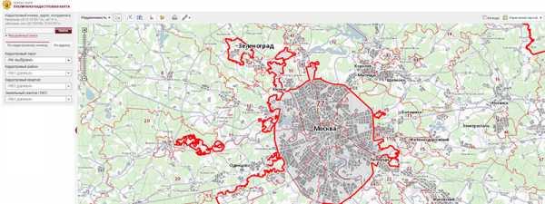 Гугл карты публичная кадастровая карта